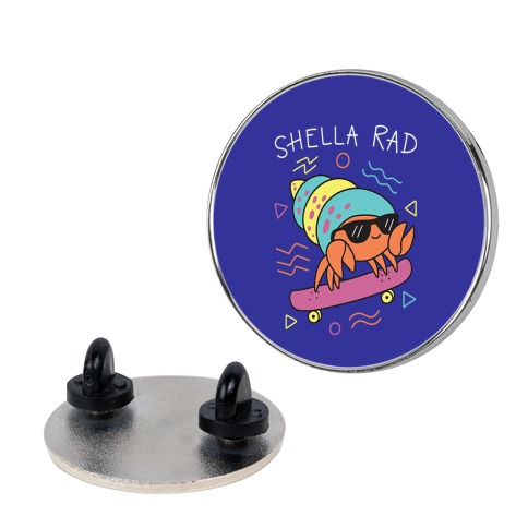 Shella Rad Crab Pin