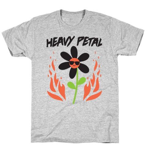 Heavy Petal Flower T-Shirt