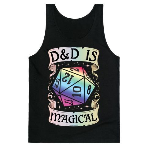 D&D Is Magical Tank Top