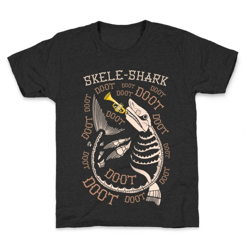 Skele-Shark Kids T-Shirt