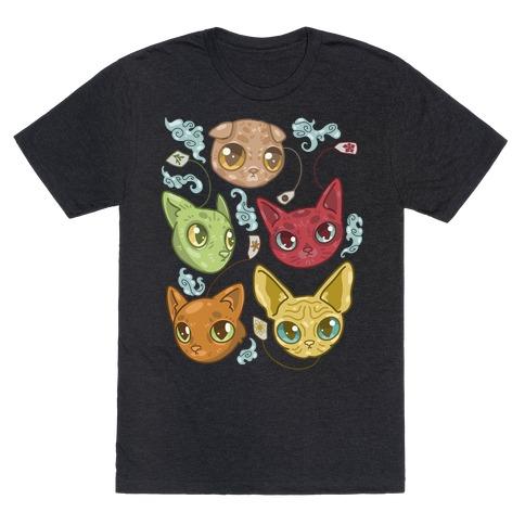 Tea Cats T-Shirt