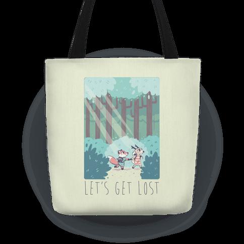 Let's Get Lost - Fox and Deer Tote