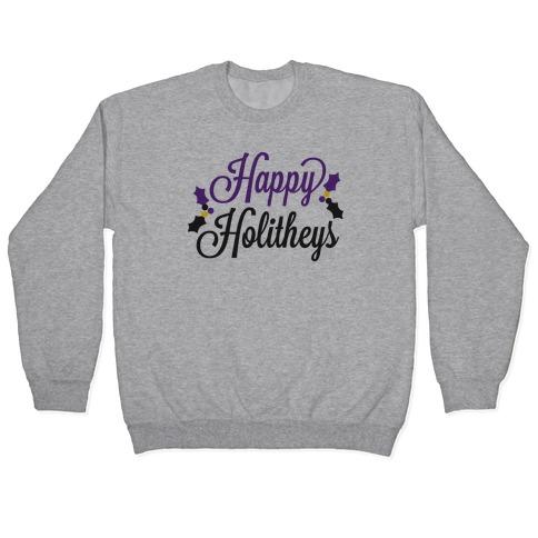 Happy Holitheys! Non-binary Holiday Pullover