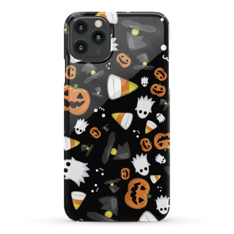 Spoopy Halloween Pattern Phone Case