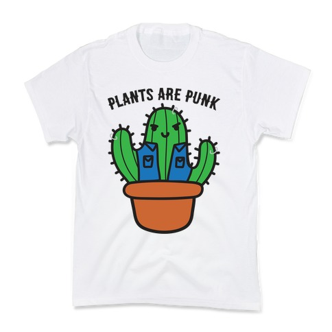 Plants Are Punk Kids T-Shirt