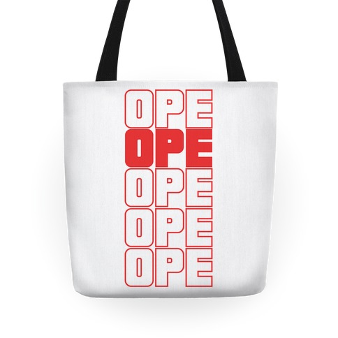 Ope Ope Ope Tote