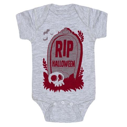 RIP Halloween Baby Onesy