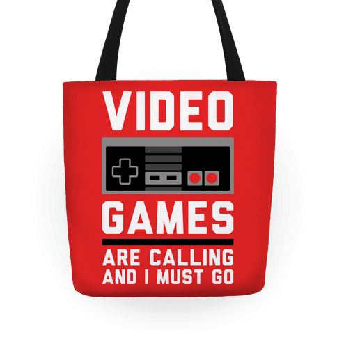 Video Games Are Calling Tote