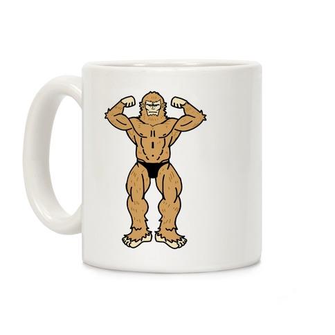 Buff cryptids: Bigfoot Coffee Mug
