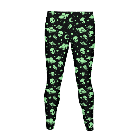 Alien Pattern Women's Legging