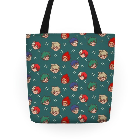 My Hero Academia Pattern Tote