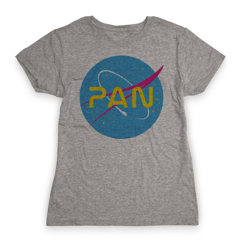 Pan Nasa Womens T-Shirt