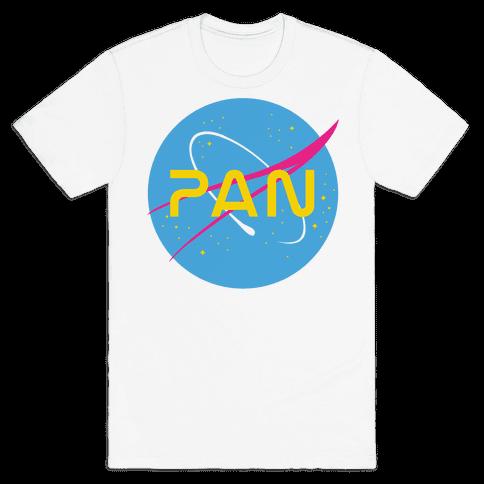 Pan Nasa Mens T-Shirt