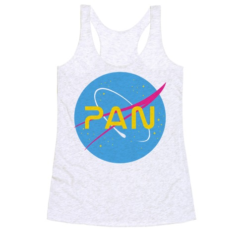 Pan Nasa Racerback Tank Top