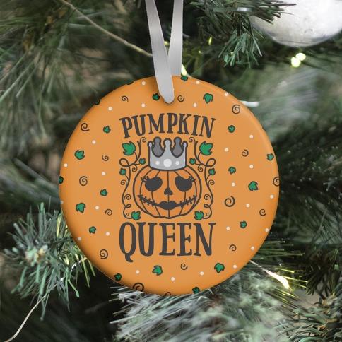Pumpkin Queen Ornament