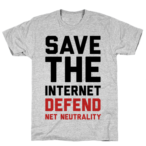 Save The Internet Defend Net Neutrality Mens T-Shirt