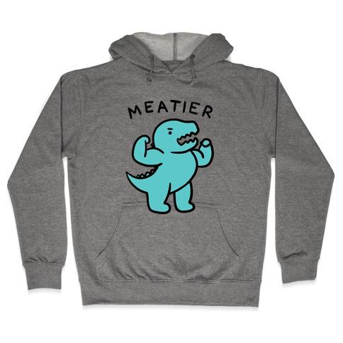 Meatier Dino Hooded Sweatshirt