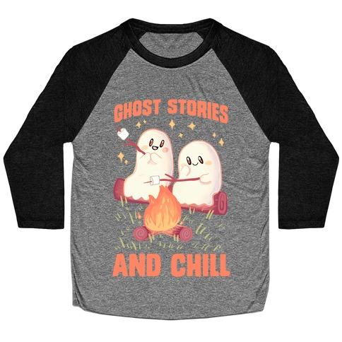 Ghost Stories And Chill Baseball Tee