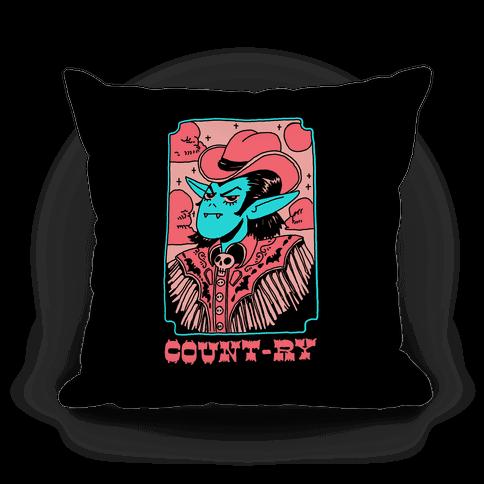 Count-ry Vampire Pillow
