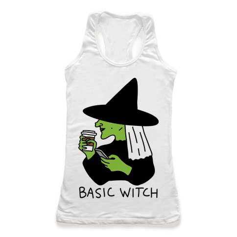 Basic Witch Racerback Tank Top