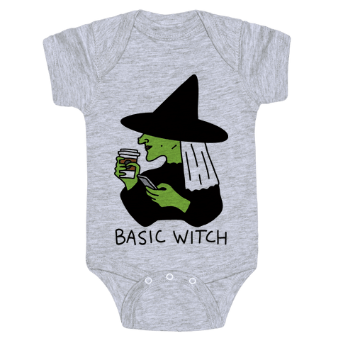 Basic Witch Baby Onesy