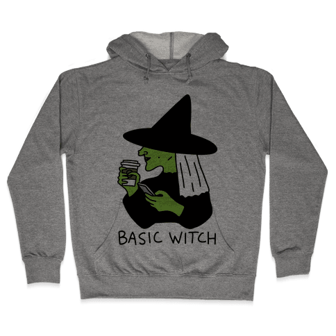 Basic Witch Hooded Sweatshirt