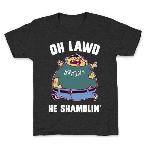 OH LAWD HE SHAMBLIN' Kids T-Shirt