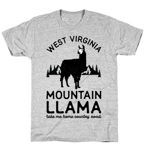 Mountain Llama Take Me Home T-Shirt