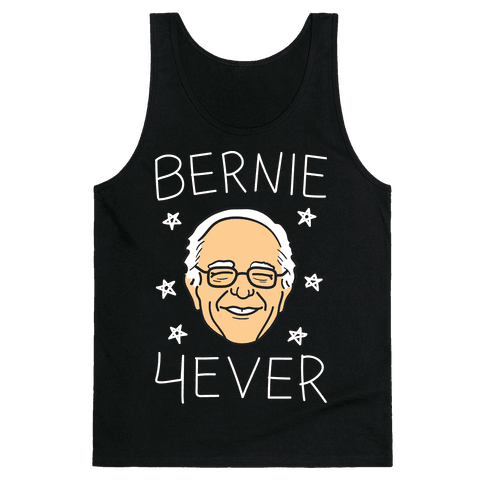 Bernie 4ever (White) Tank Top