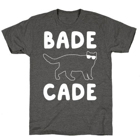 Bade Cade White Print T-Shirt