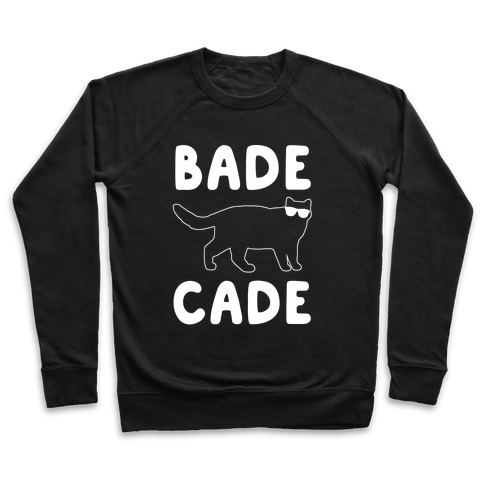 Bade Cade White Print Pullover