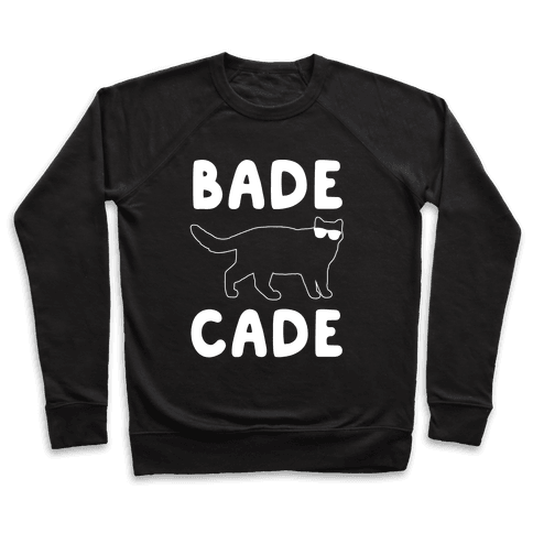 Bade Cade White Print