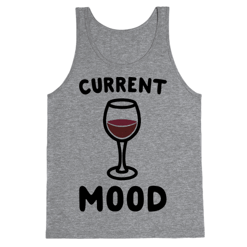 Current Mood Wine Tank Top