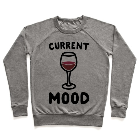 Current Mood Wine Pullover