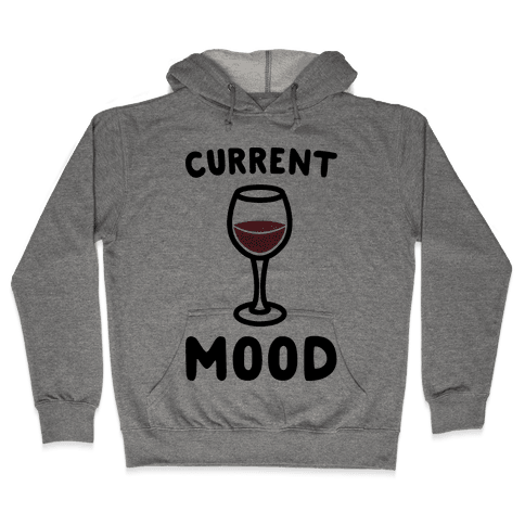 Current Mood Wine Hooded Sweatshirt