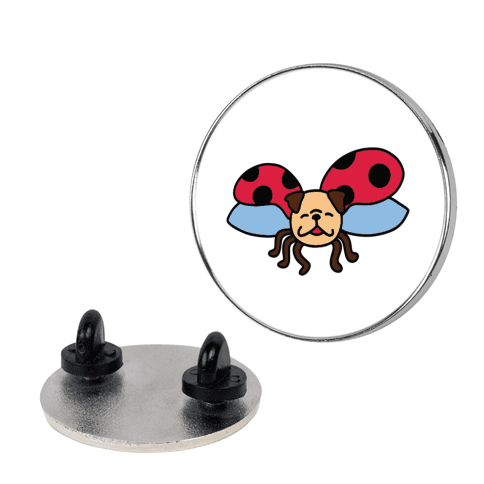 Ladypug Pin