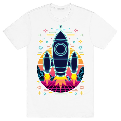 Synthwave Space Exploration T-Shirt