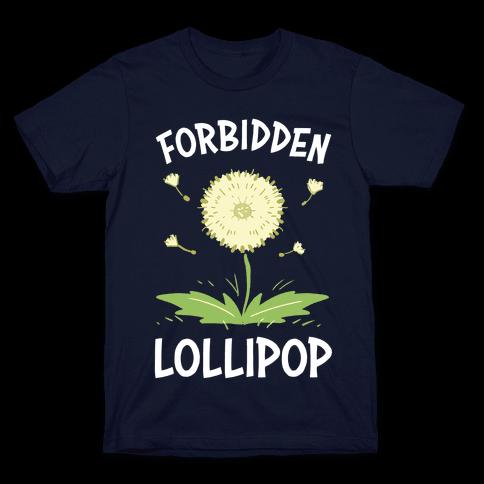 Forbidden Lollipop Mens/Unisex T-Shirt