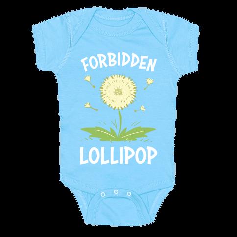 Forbidden Lollipop Baby One-Piece