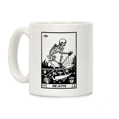Death Tarot Coffee Mug