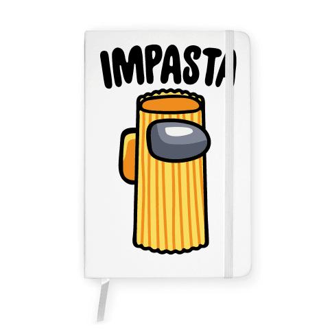 Impasta Parody Notebook
