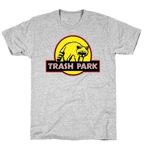 Trash Park Raccoon Parody T-Shirt