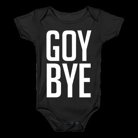 Goy Bye Baby Onesy