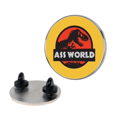 Ass world Pin