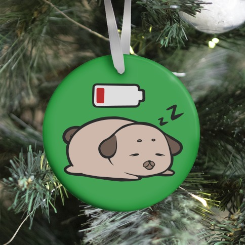 Power Nap (green) Ornament