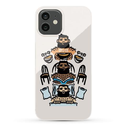The 3 Bears Phone Case