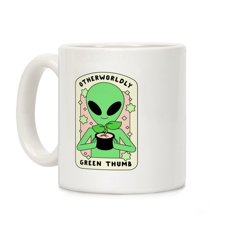 Otherworldly Green Thumb Coffee Mug