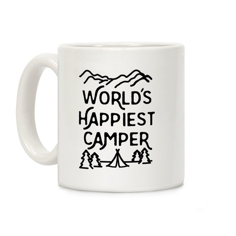 World's Happiest Camper Coffee Mug