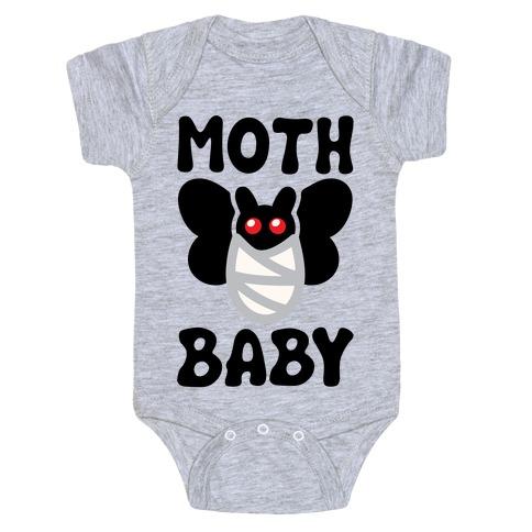 Mothman Baby Parody Baby One-Piece