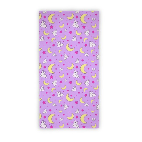 Sailor moon's bedding towel Beach Towel